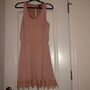 Pink express dress